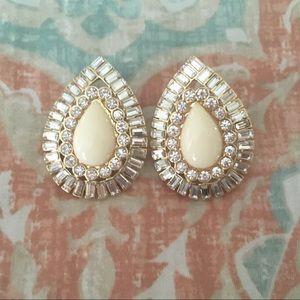 Kate Spade ✨ Large Bling Embellished Stud Earrings